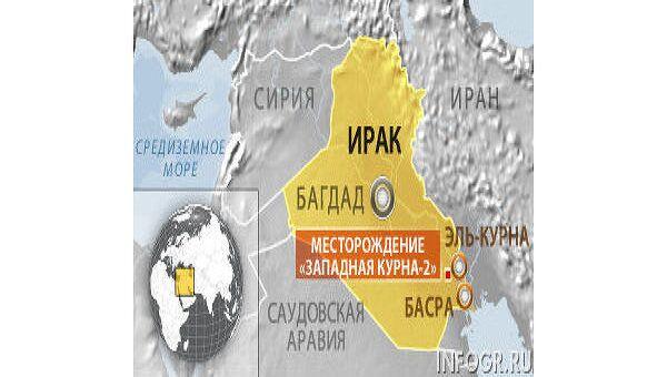 ЛУКОЙЛ подписал контракт на разработку иракской Западной Курны-2