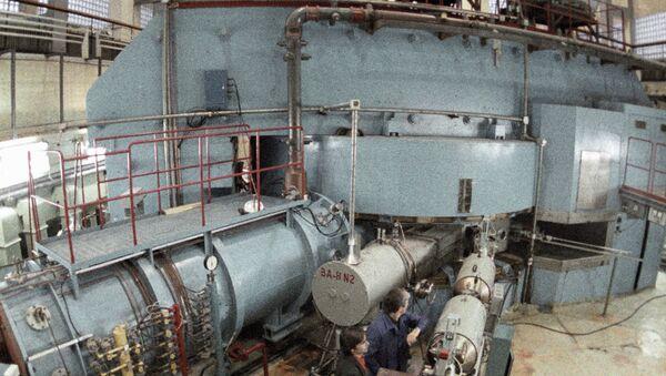 Лаборатория ядерных реакций. Архив