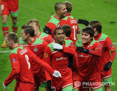 Футболисты Локомотива