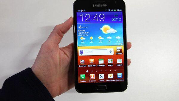 Смартфон Samsung Galaxy Note. Архив