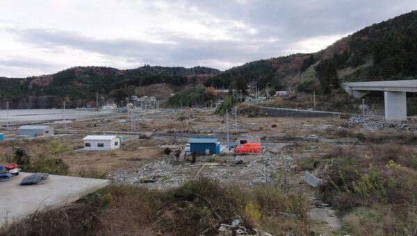 Северо-восток Японии, пострадавший от стихийного бедствия 11 марта 2011 года