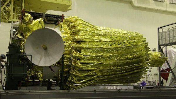 Российский космический радиотелескоп Радиоастрон (Спектр-Р), архивное фото