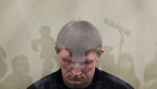 Судебный процесс над членом банды Сергея Цапка Андреем Быковым