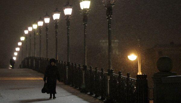 Пешеходный мост в Москве