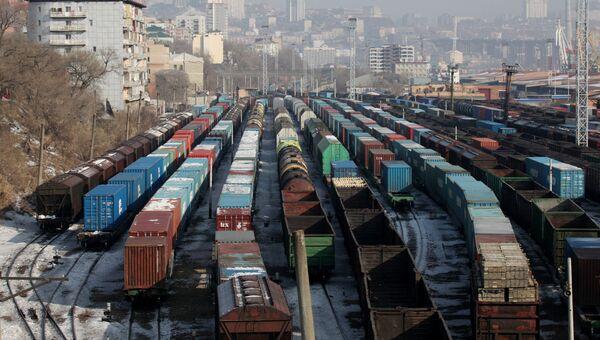 Железнодорожное депо Владивостока. Архивное фото
