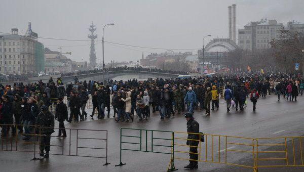 Митинг против фальсификации выборов состоялся в Москве на Бо