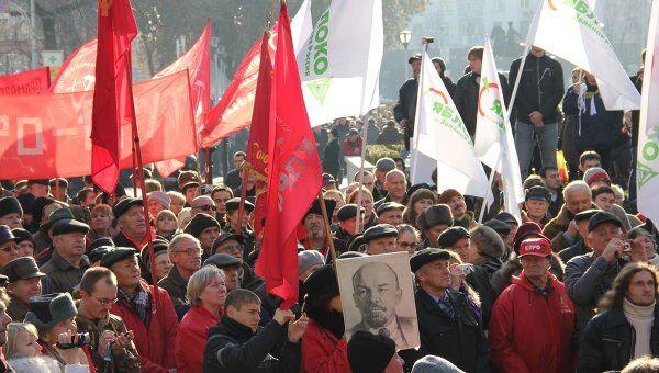 Митинг За честные выборы в Краснодаре
