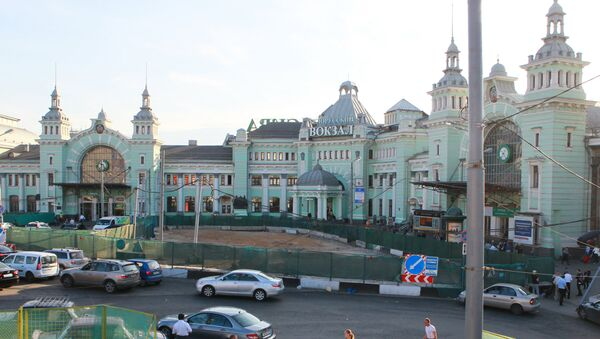 Белорусский вокзал. Архивное фото