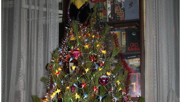 Новогодняя елка дома