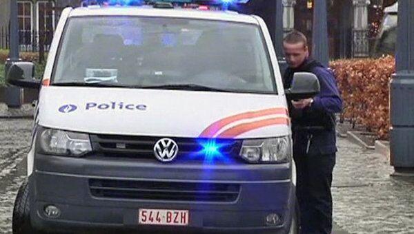 Полиция работает на месте взрыва гранат в центре Льежа