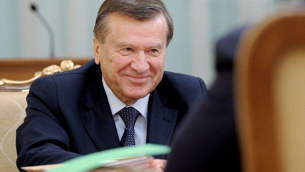 Виктор Зубков на заседании президиума правительства РФ. Архив