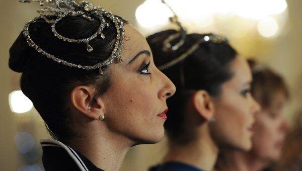 Гастроли балетной труппы театра Ла Скала в Большом театре. Архивное фото
