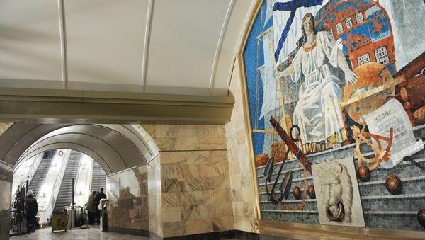 Станция метро Адмиралтейская. Архивное фото