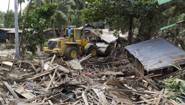 Последствия тайфуна на Филиппинах