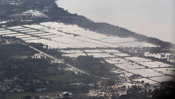 Последствия тайфуна Ваши на Филиппинах
