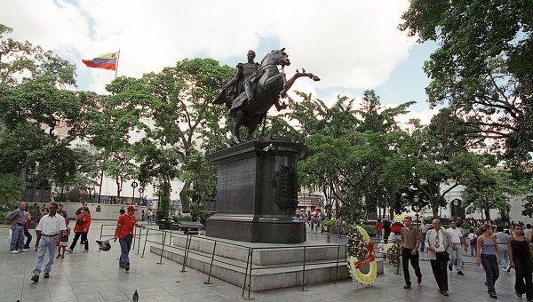 Памятник Симону Боливару в Каракасе