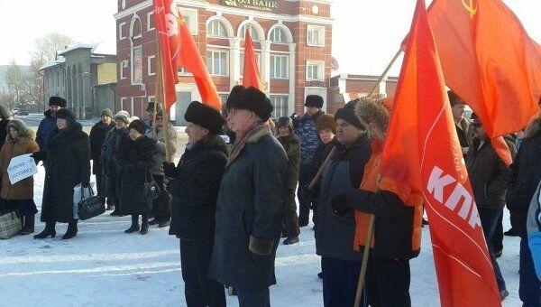 Митинг в Горно-Алтайске
