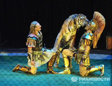 Цирковое шоу Легенда братьев Запашных
