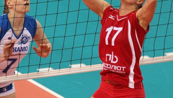 Волейбоистка Наталья Сафронова