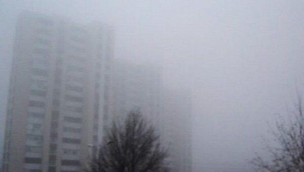Видимость в Белгороде не превышает 100 метров из-за сильного тумана