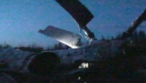 Авария вертолета Ми-26 в Ханты-Мансийском автономном округе