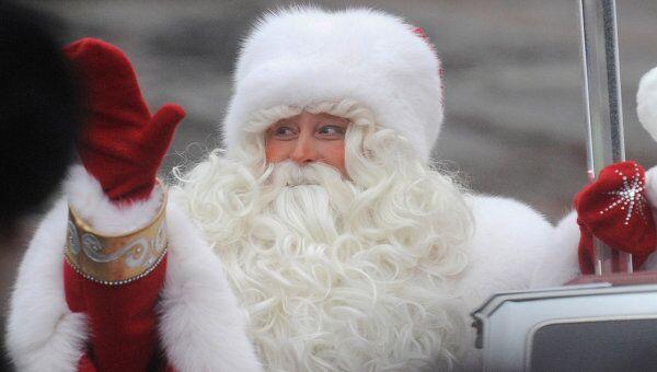 Встреча Деда Мороза. Архивное фото
