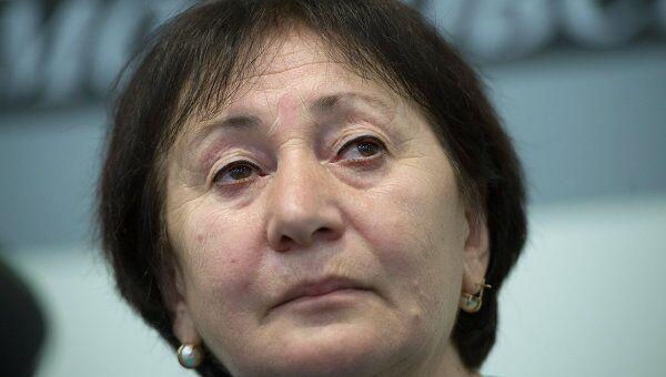 Экс-кандидат на пост президента Южной Осетии Алла Джиоева.