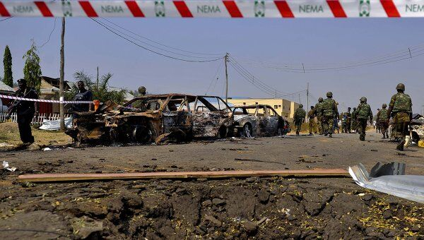 Взрыв в церкви на окраине столицы Нигерии Абуджи