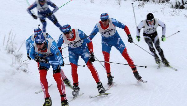 Традиционные всероссийские соревнования Красногорская лыжня. Архивное фото