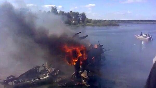 Крушение самолета Як-42 под Ярославлем. Архивное фото