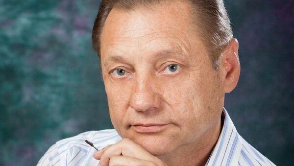 Глава города Лермонтова Ставропольского края Александр Дунаев. Архив