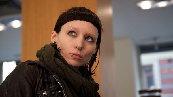 Кадр из фильма Девушка с татуировкой дракона