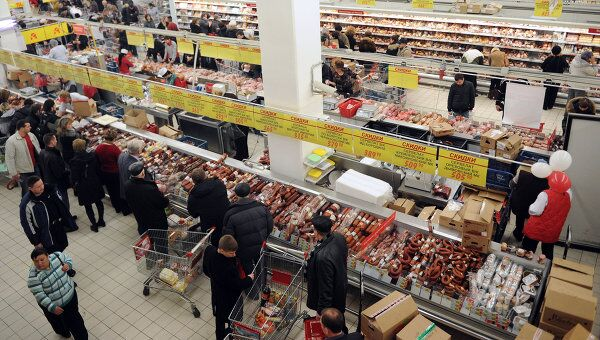 Минимальный набор продуктов питания в РФ в феврале подорожал на 0,8%