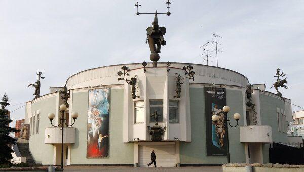 Здание Театра зверей имени В.Л.Дурова, архивное фото