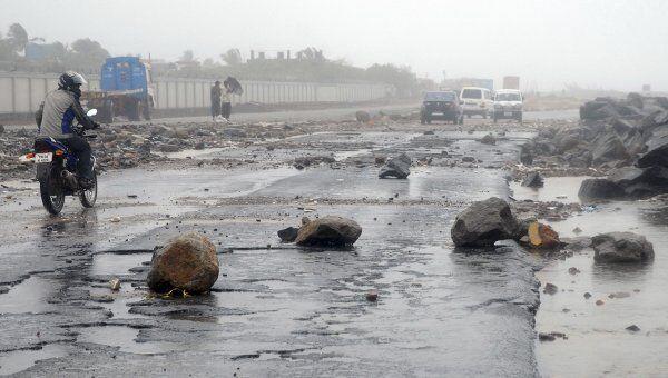 Последствия циклона Тхане в Индии