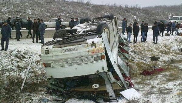 В ДТП с автобусом в Кабардино-Балкарии