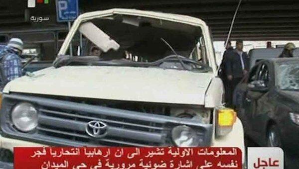 Последствия крупного теракта в Дамаске. Видео с места ЧП