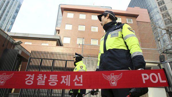 Южнокорейская полиция. Архивное фото