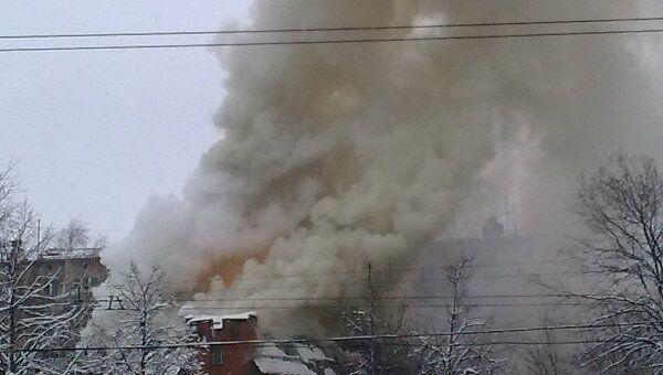 Взрыв газа в московском ресторане