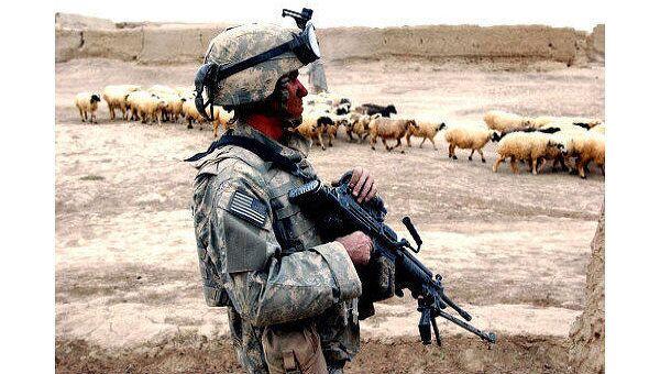 Американский солдат