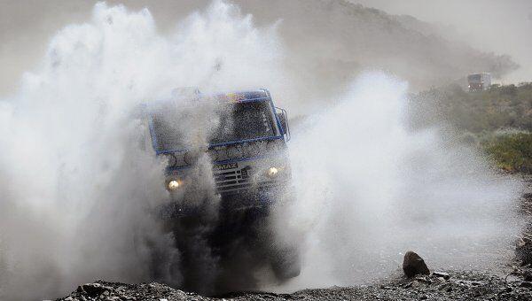 Пилот КАМАЗ-мастер Каргинов выиграл 11-й этап авторалли Дакар