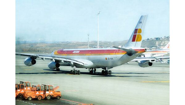 Airbus A340 авиакомпании Iberia