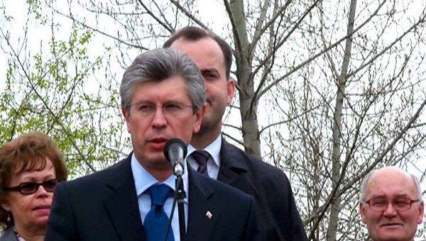 Волгоградский губернатор привез в Москву горсть родной земли