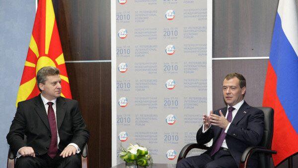 Президент Македонии Георгий Иванов. Архивное фото