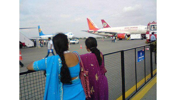 Задержанный в Индии российский Ан-124 ожидает вылета из Мумбаи