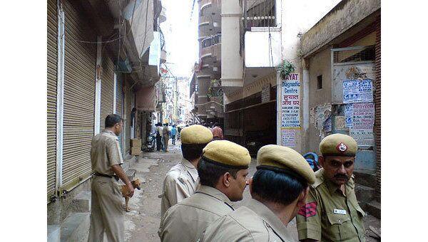 Индийская полиция. Архив
