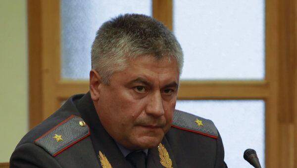 Начальником ГУВД Москвы назначен Владимир Колокольцев