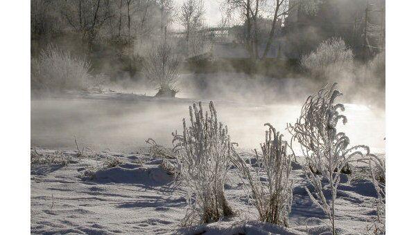 Морозы в Якутии