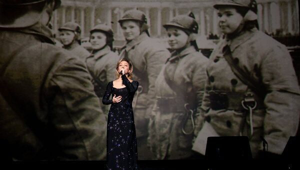 Концерт в память о Блокаде Ленинграда в Петербурге