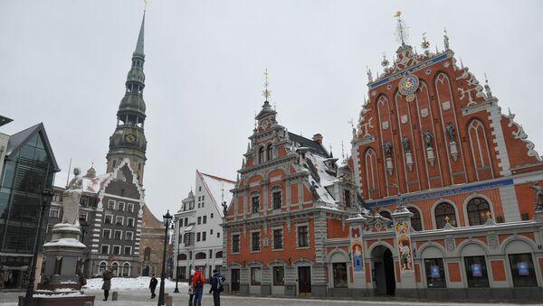 Латвия. Рига. Архивное фото